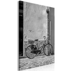 Artgeist Wandbild - Old Italian Bicycle (1 Part) Vertical