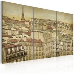 Artgeist Wandbild - Paris - Stadt der Harmonie
