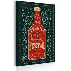 Artgeist Wandbild - Tequila Festival