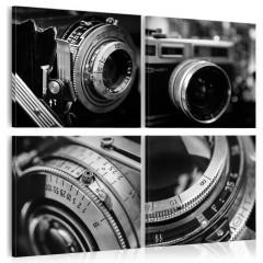 Artgeist Wandbild - Vintage Cameras