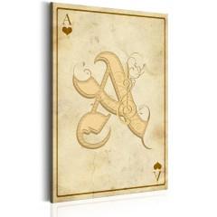 Artgeist Wandbild - Winning Card