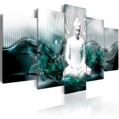 Artgeist Wandbild - Azure Meditation