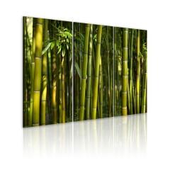 Artgeist Wandbild - Bambus in Grün