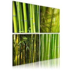 Artgeist Wandbild - Bambusse