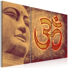 Artgeist Wandbild - Buddha - Symbol