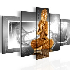 Artgeist Wandbild - Buddhistisches Gebet