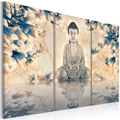 Artgeist Wandbild - Buddhistisches Ritual
