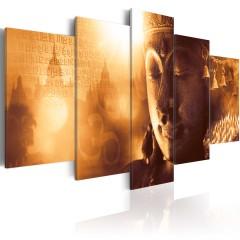 Artgeist Wandbild - Gold Orient