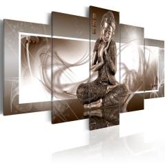 Artgeist Wandbild - Meditierender Buddha