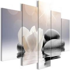 Artgeist Wandbild - Natural Lightness (5 Parts) Wide