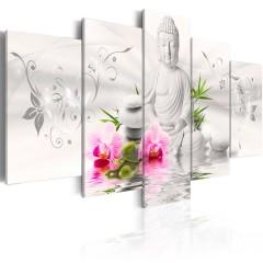 Artgeist Wandbild - Pearl Buddha