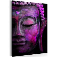 Artgeist Wandbild - Pink Buddha