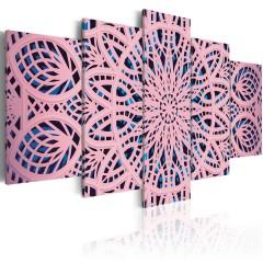 Artgeist Wandbild - Pink Exoticism