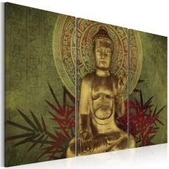 Artgeist Wandbild - Saint Buddha