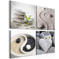 Artgeist Wandbild - Sea: Yin and Yang