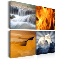 Artgeist Wandbild - Vielfalt der Natur