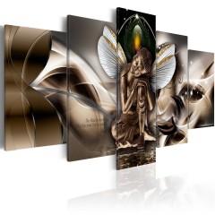 Artgeist Wandbild - Winged Buddha