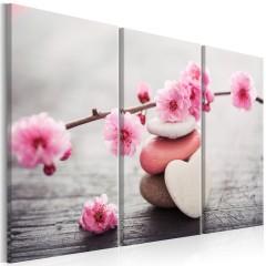 Artgeist Wandbild - Zen: Cherry Blossoms II