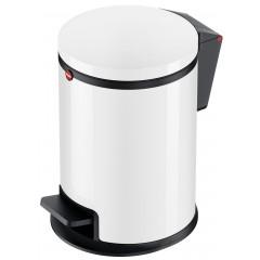 Hailo Pure S, weiß, 3 Liter, Inneneimer: Kunststoff, Tret-Kosmetikeimer
