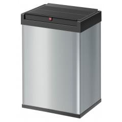 Hailo Big-Box Swing L, silber, 35 Liter, Großraum-Abfallbox