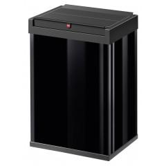 Hailo Big-Box Swing L, schwarz, 35 Liter, Großraum-Abfallbox