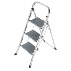 Hailo K60 StandarLine, Alu-Klapptritt, 3 Stufen