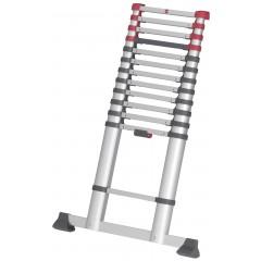 Hailo T80 FlexLine, Aluminium Sicherheits-Teleskopleiter, 13 Sprossen