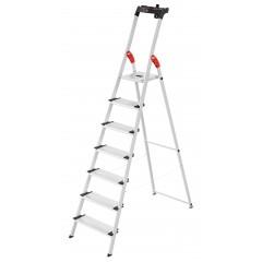 Hailo L80 ComfortLine, 7 Stufen, Stufenstehleiter
