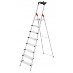 Hailo L80 ComfortLine, 8 Stufen, Stufenstehleiter