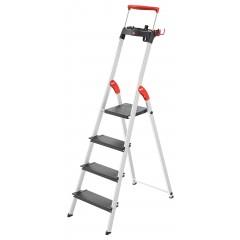 Hailo L100 TopLine, 4 Stufen, Stufenstehleiter