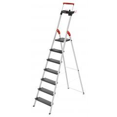 Hailo L100 TopLine, 7 Stufen, Stufenstehleiter