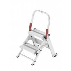 Hailo ProfiLine ST 150 XXL, 2 Stufen, Sicherheitstreppe