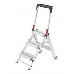 Hailo ProfiLine ST 150 XXL, 3 Stufen, Sicherheitstreppe